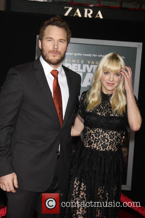 Chris Pratt and Anna Faris 2