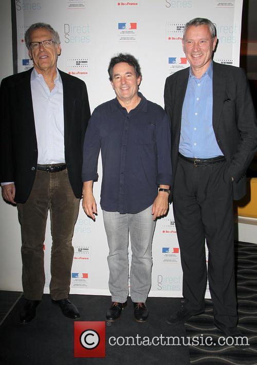 Carlton Cuse, John Wirth and Olivier-rene Veillon 2
