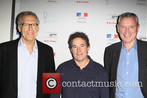 Carlton Cuse, John Wirth and Olivier-rene Veillon 6