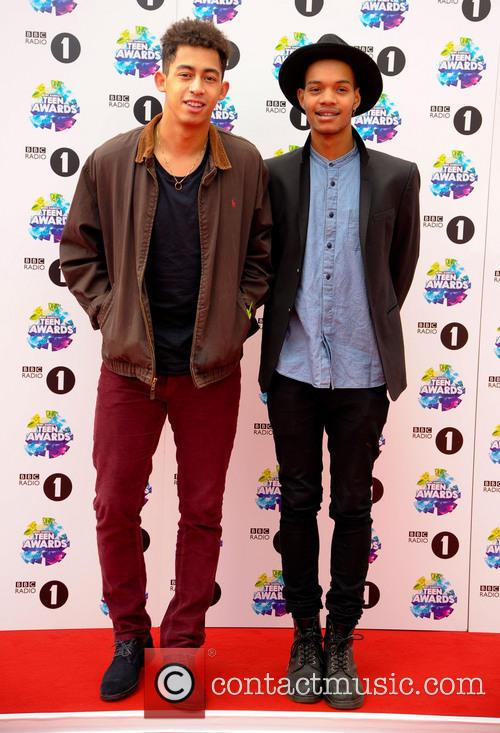 Scott Mills, Rizzle Kicks, Jordan Stephens and Harley  Alexander-sule 1