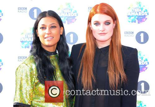 Icona Pop, Caroline Hjelt and Aino Jawo 2