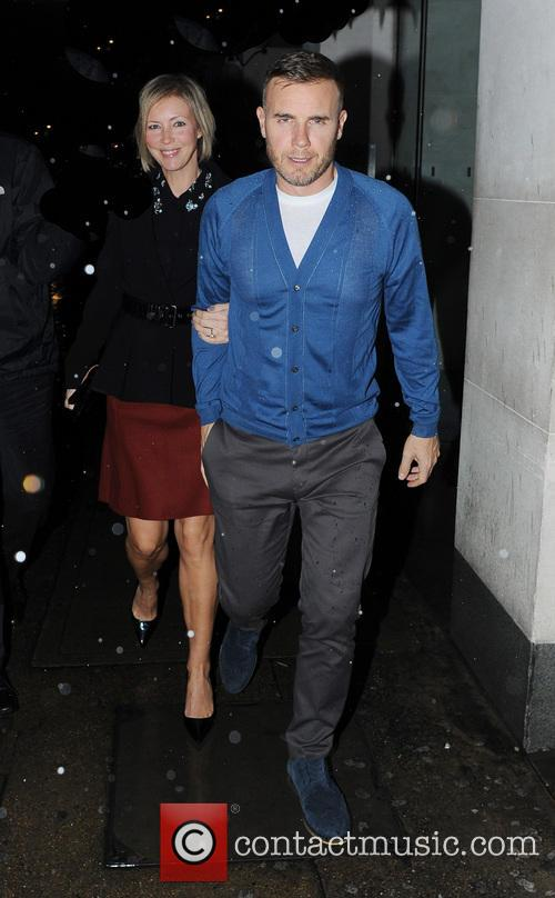 Gary Barlow and Dawn Andrews 2