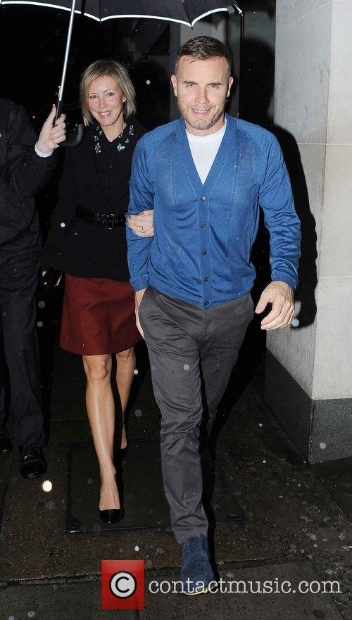 Gary Barlow and Dawn Andrews 5