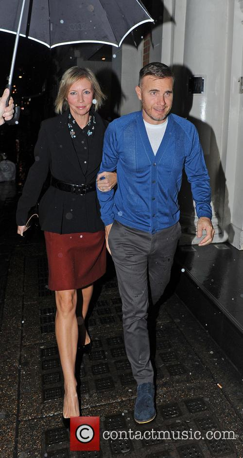 Gary Barlow and Dawn Andrews 6