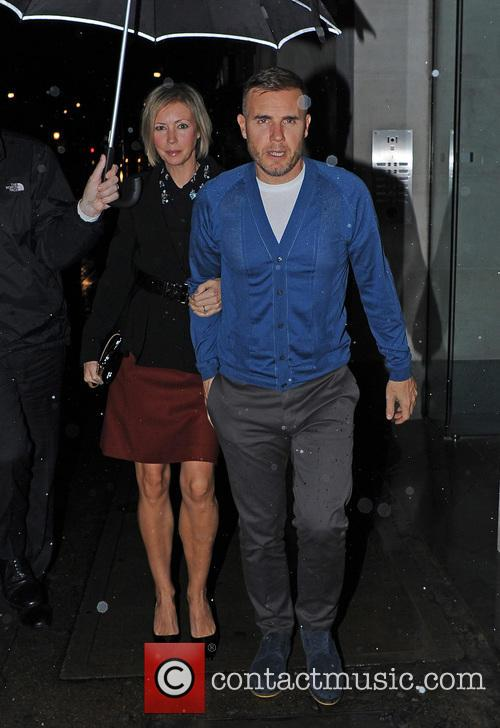 Gary Barlow and Dawn Andrews 7