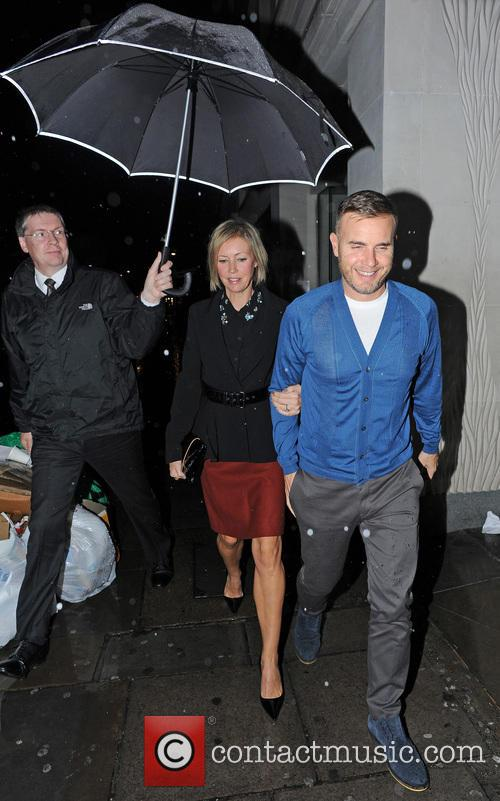 Gary Barlow and Dawn Andrews 9