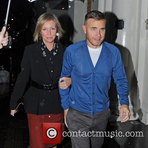 Gary Barlow and Dawn Andrews 1
