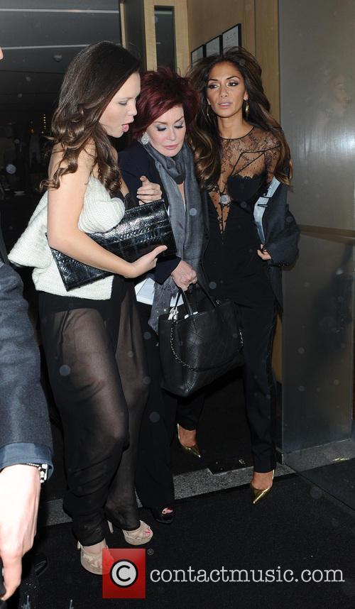 Nicole Scherzinger and Sharon Osbourne 7