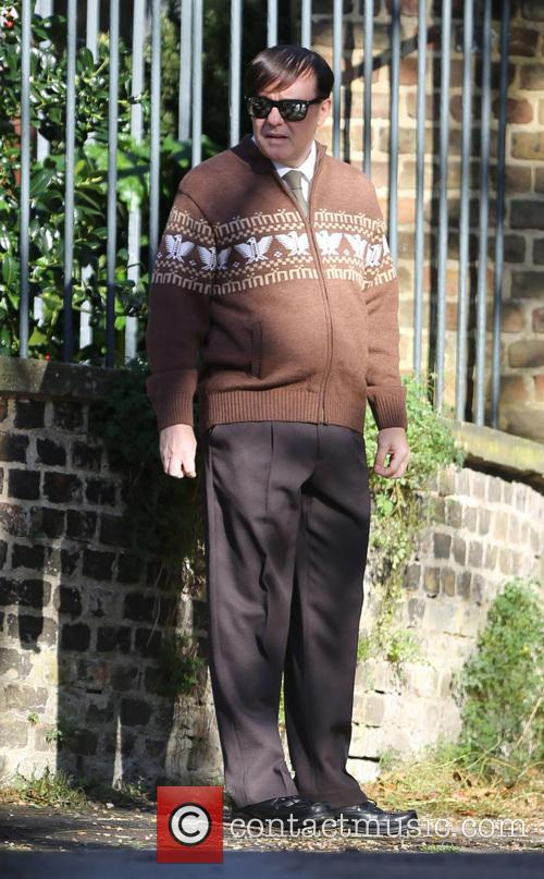 Ricky Gervais Filming Derek