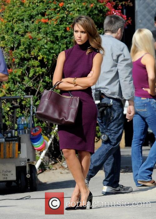 jessica alba celebrities on the set of 3935704