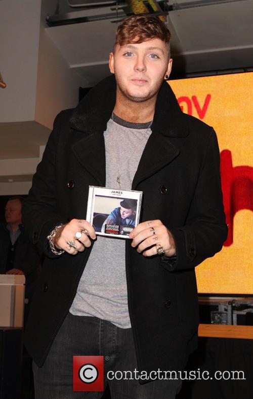 James Arthur CD signing