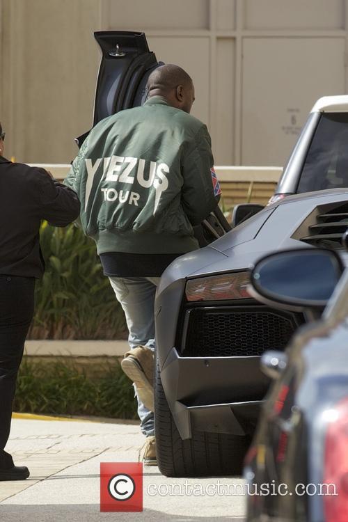 Kanye West Shopping