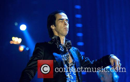 Nick Cave and the Bad Seeds perform in...