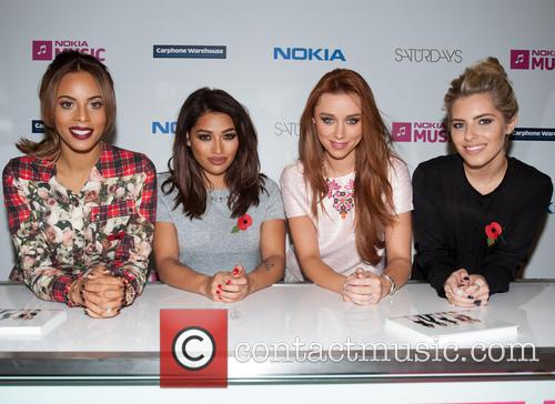 Mollie King, Una Healy, Vanessa White and Rochelle Humes 3