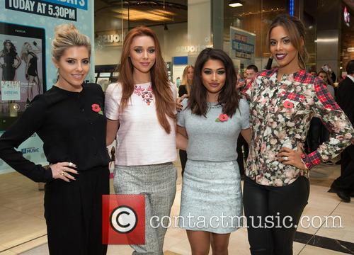 Mollie King, Una Healy, Vanessa White and Rochelle Humes 4