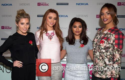 Mollie King, Una Healy, Vanessa White and Rochelle Humes 5