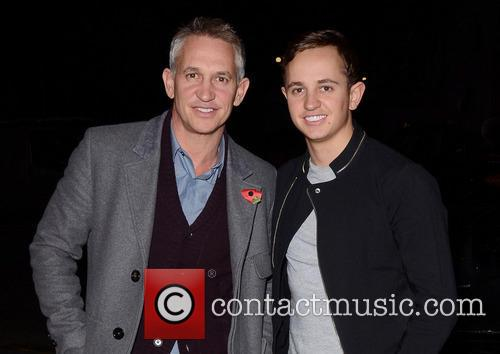 Gary Lineker arrives to see Spamalot