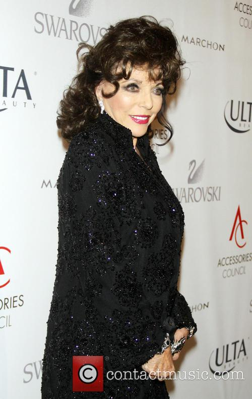 joan collins 17th annual accessories council excellence 3936071