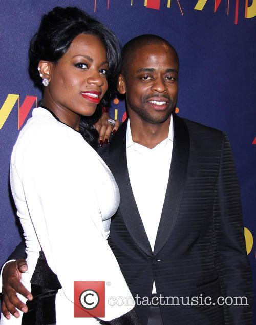 Fantasia Barrino and Dule Hill 3