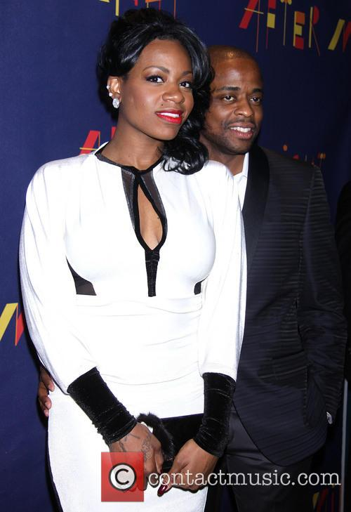 Fantasia Barrino and Dule Hill 7