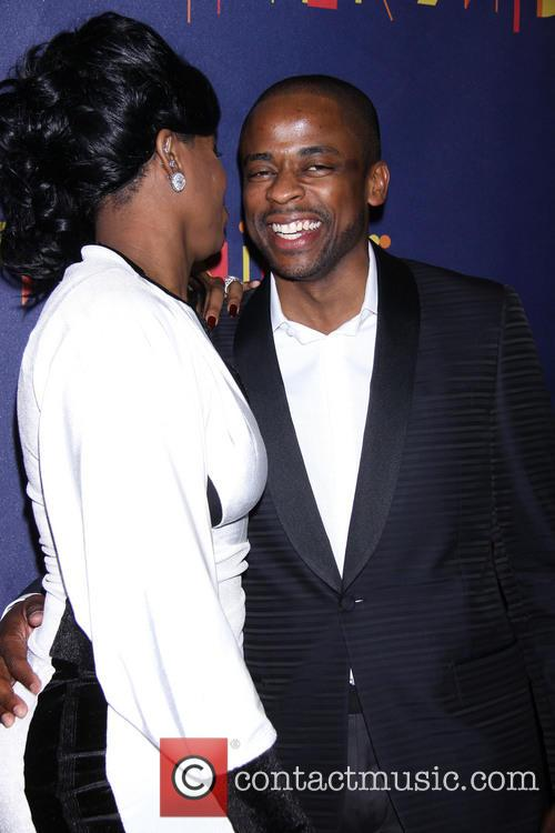 Fantasia Barrino and Dule Hill 8