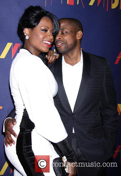 Fantasia Barrino and Dule Hill 10