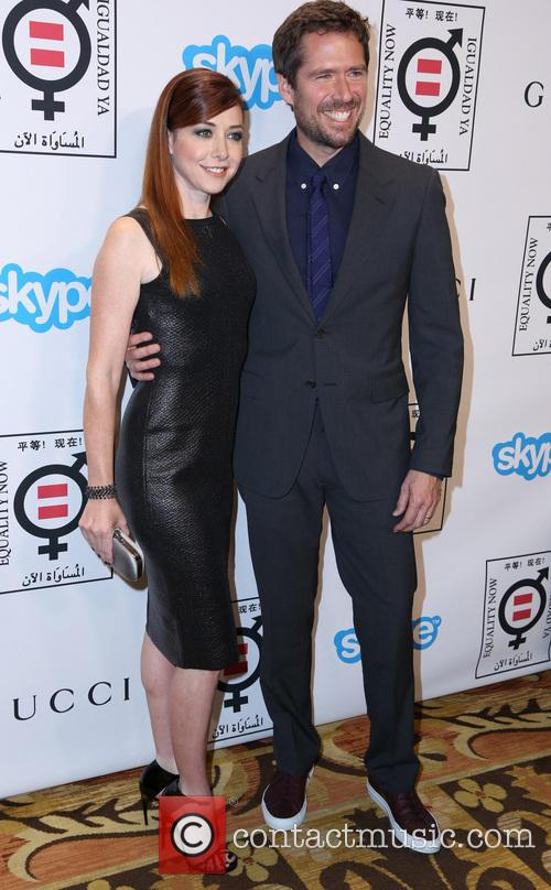 Alyson Hannigan and Alexis Denisof 5