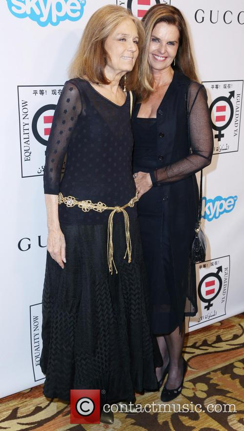 Gloria Steinem and Maria Shriver 2