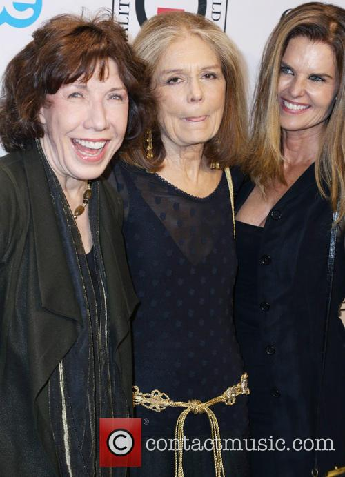 Lily Tomlin, Gloria Steinem and Maria Shriver 1