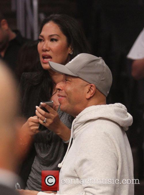 Kimora Lee Simmons and Russell Simmons 2