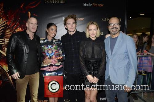 Bruno Gunn, Meta Golding, Sam Claflin, Jena Malone and Jeffrey Wright 1