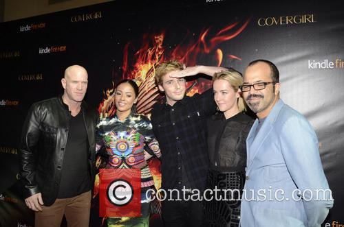 Bruno Gunn, Meta Golding, Sam Claflin, Jena Malone and Jeffrey Wright 8