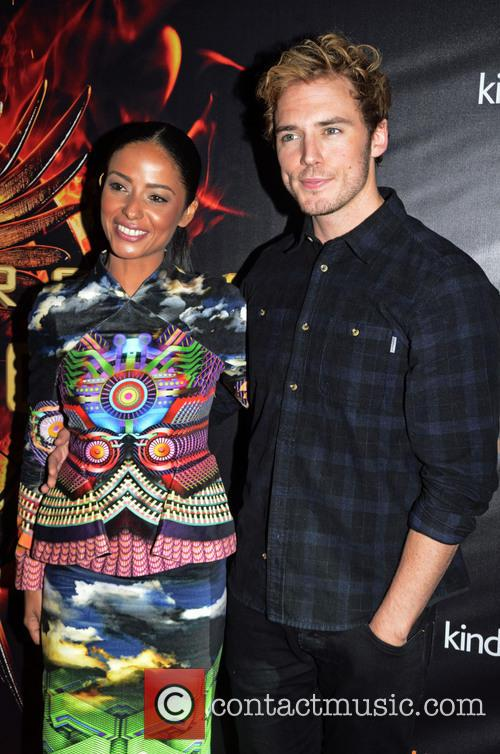 Meta Golding and Sam Claflin 2