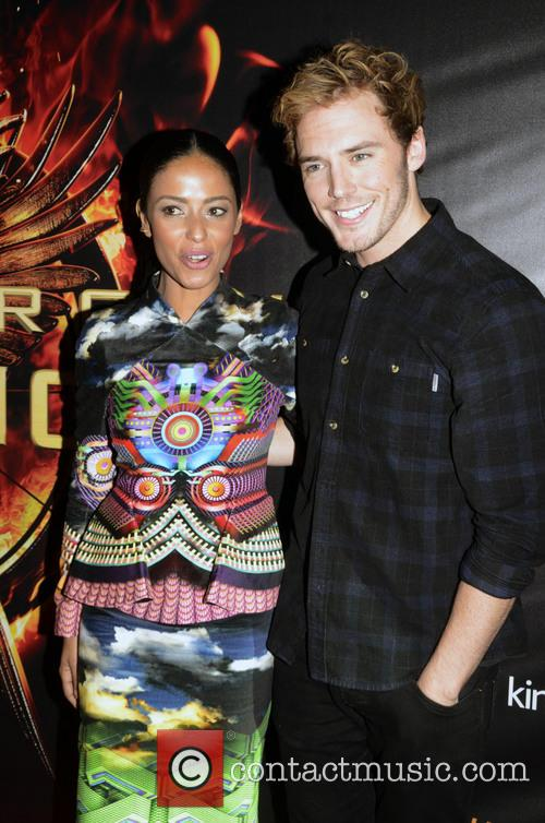 Meta Golding and Sam Claflin 5