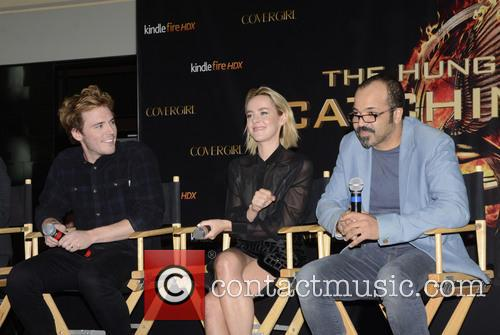 Sam Claflin, Jena Malone and Jeffrey Wright 6