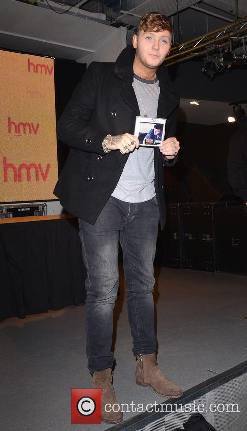 james arthur james arthur cd signing at 3935815