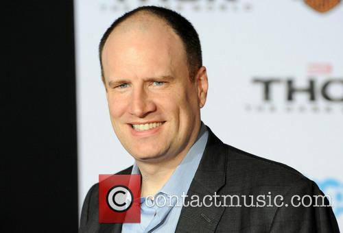 Thor and Kevin Feige