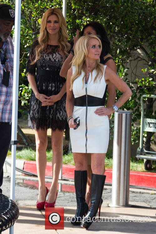 Carlton Gebbia, Brandi Glanville and Kim Richards 3