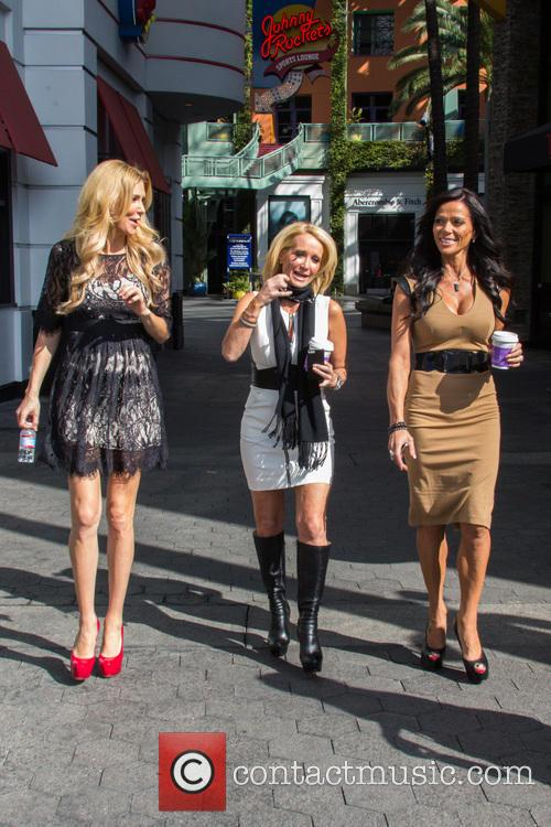 Carlton Gebbia, Brandi Glanville and Kim Richards 5