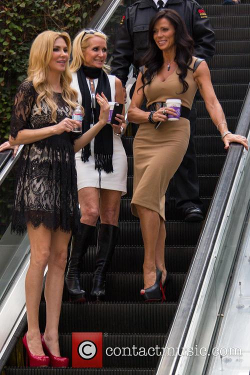 Carlton Gebbia, Brandi Glanville and Kim Richards 1