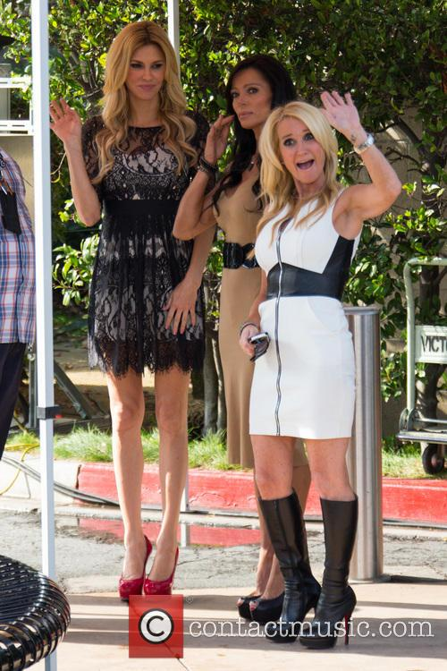 Carlton Gebbia, Brandi Glanville and Kim Richards 15
