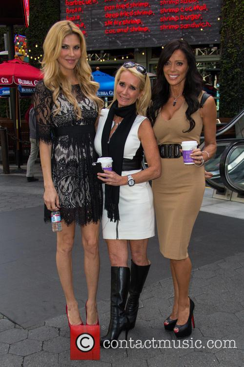 Carlton Gebbia, Brandi Glanville and Kim Richards 17