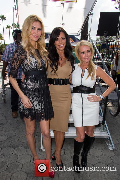 Carlton Gebbia, Brandi Glanville and Kim Richards 18