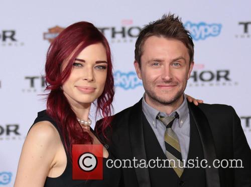 Chloe Dykstra and Chris Hardwick 2
