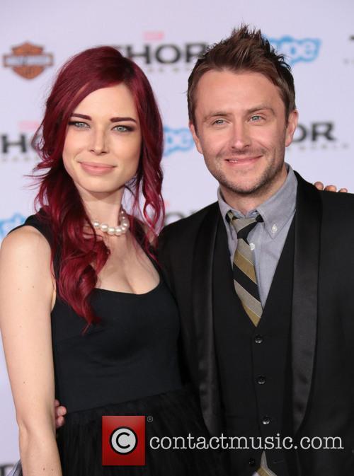 Chloe Dykstra and Chris Hardwick 1