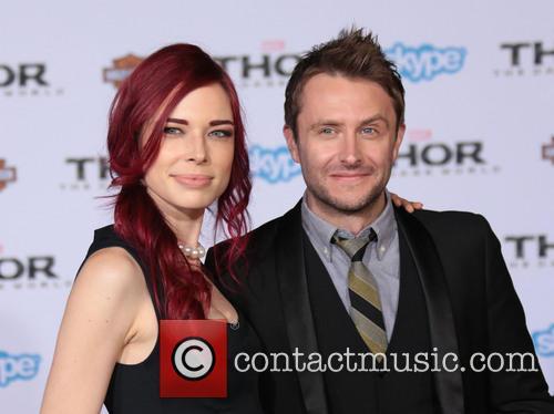 Chloe Dykstra and Chris Hardwick 4