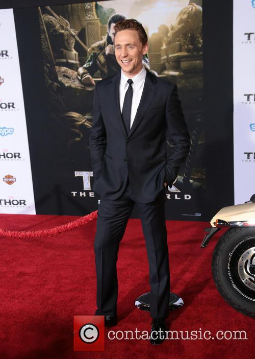 Tom Hiddleston, the El Capitan Theatre