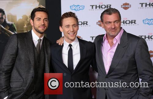 Zachary Levi, Nathan Fillion and Tom Hiddleston 3