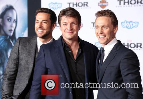Zachary Levi, Nathan Fillion and Tom Hiddleston 5