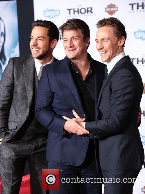 Zachary Levi, Nathan Fillion and Tom Hiddleston 6